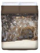 Sandstone Cave Duvet Cover by Douglas Barnard