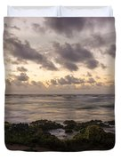 Sandy Beach Sunrise 10 - Oahu Hawaii Duvet Cover by Brian Harig