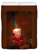 Santa Claus - Antique Ornament - 06 Duvet Cover by Jill Reger