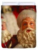 Santa Claus - Antique Ornament - 12 Duvet Cover by Jill Reger
