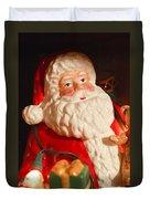 Santa Claus - Antique Ornament - 13 Duvet Cover by Jill Reger