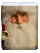 Santa Claus - Antique Ornament - 17 Duvet Cover by Jill Reger