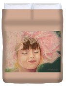 Sassy in Tulle Duvet Cover by Marna Edwards Flavell