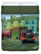 Scammell Showtrac Duvet Cover by Mike  Jeffries