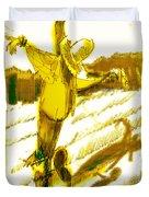 Scarecrow Babysitter Duvet Cover by Seth Weaver