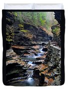 Scenic Cascade Duvet Cover by Frozen in Time Fine Art Photography