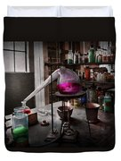 Science - Chemist - Chemistry For Medicine  Duvet Cover by Mike Savad
