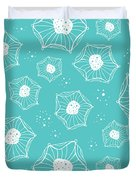 Sea Flower Duvet Cover by Susan Claire