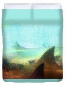 Sea Spirits - Manta Ray Art By Sharon Cummings Duvet Cover by Sharon Cummings