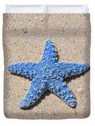 Sea Star - Light Blue Duvet Cover by Al Powell Photography USA