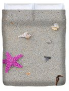 Sea Swag - Pink Duvet Cover by Al Powell Photography USA