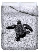 Sea Turtle Duvet Cover by Sebastian Musial