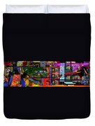 Search For The Straying Son 14d Duvet Cover by David Baruch Wolk