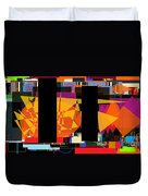 Search For The Straying Son 7 Duvet Cover by David Baruch Wolk
