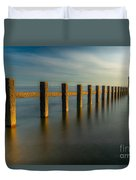 Seascape Wales Duvet Cover by Adrian Evans