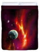 Seleamov Duvet Cover by James Christopher Hill