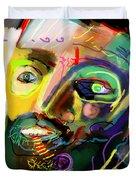 Self Development 11 Duvet Cover by David Baruch Wolk