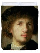 Self Portrait Duvet Cover by Rembrandt Harmenszoon van Rijn
