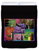 Sensual Wine  Duvet Cover by Mark Moore