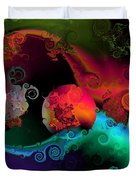 Seperation And Individuation Duvet Cover by Claude McCoy