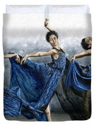 Sequential Dancer Duvet Cover by Richard Young
