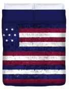 Serapis Flag Duvet Cover by World Art Prints And Designs