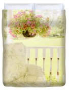 Serenity Duvet Cover by Margie Hurwich