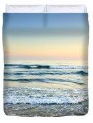Serenity Sea Vintage Duvet Cover by Guido Montanes Castillo