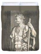 Sergius Galba Emperor Of Rome  Duvet Cover by Titian