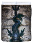 Serpent Fountain Duvet Cover by Doug Sturgess
