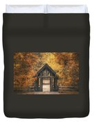 Seven Bridges Trail Head Duvet Cover by Scott Norris