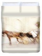 Seville Impression Duvet Cover by Jenny Rainbow