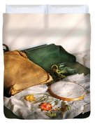 Sewing - Needle Point Duvet Cover by Mike Savad