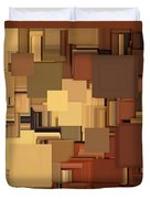 Shades Of Brown Duvet Cover by Lourry Legarde