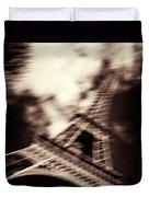 Shades Of Paris Duvet Cover by Dave Bowman