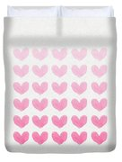 Shades Of Pink Duvet Cover by Aged Pixel