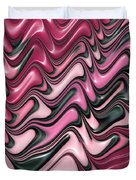 Shades Of Pink And Red Decorative Design Duvet Cover by Matthias Hauser
