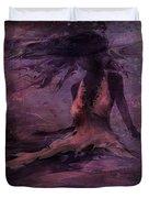 She is the Wind Duvet Cover by Rachel Christine Nowicki