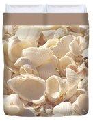 She Sells Seashells Duvet Cover by Kim Hojnacki