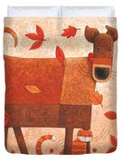 Shelter From The Storm Duvet Cover by Peter Adderley