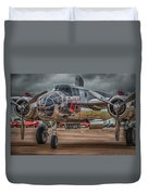 Shiny Mitchell Duvet Cover by Gareth Burge Photography