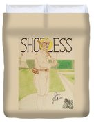 Shoeless Joe Jackson Duvet Cover by Rand Swift
