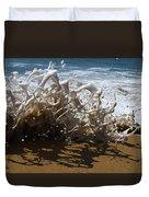 Shorebreak - The Wedge Duvet Cover by Joe Schofield