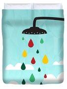 Shower  Duvet Cover by Mark Ashkenazi