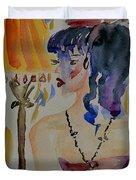 Showgirl Duvet Cover by Beverley Harper Tinsley