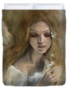 Silence Duvet Cover by Dorina  Costras
