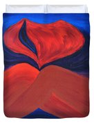 Silent She Emerges Duvet Cover by Daina White