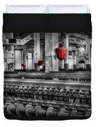 Silk Mill  Duvet Cover by Susan Candelario