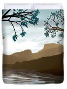 Silkscreen Duvet Cover by Cynthia Decker