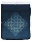 Sine Cosine And Tangent Waves Duvet Cover by Jason Padgett